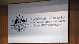 The Royal Commission Banking Enquiry